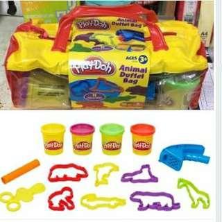 🚚 全新 play-doh 培樂多 工具提袋組 黏土