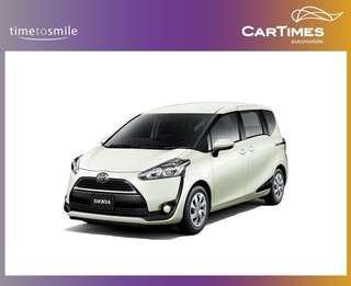 Toyota Sienta Hybrid 1.5 X (A)