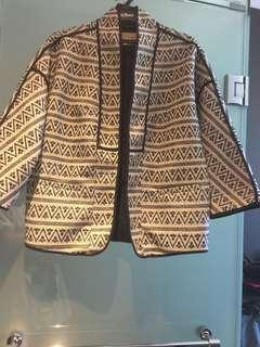 Ethnic Ikat Blazer