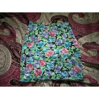 [Cotton On] Pencil Skirt (Floral)