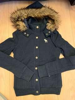 Abercrombie & Fitch Women's Hooded Jacket 女裝夾棉有帽外套