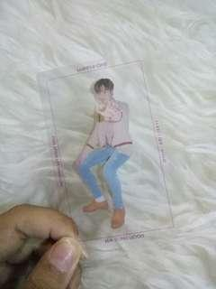 transparent photocard wanna one Ha Sung Woon(nothing without you)