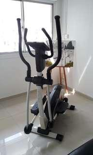 cross trainer and sit up bench