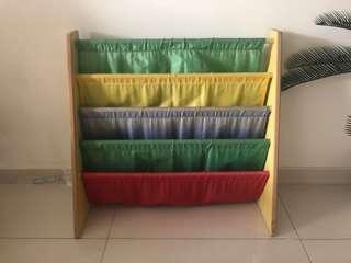 Bookshelf for children's books
