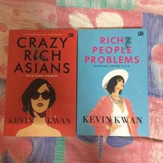 Novel Crazy Rich Asians & Rich People Problems