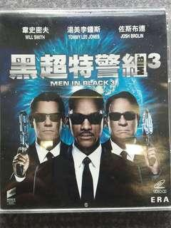 Man in black 3 VCD Will Smith,Tommy Lee Jones