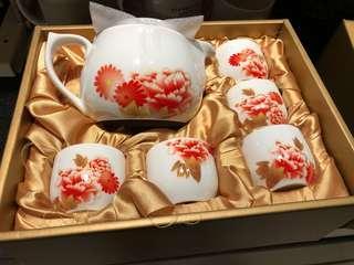 陶瓷茶壺杯組