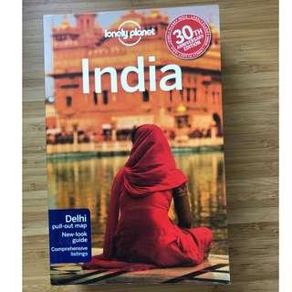 India Lonely Planet travel guide 14th edition