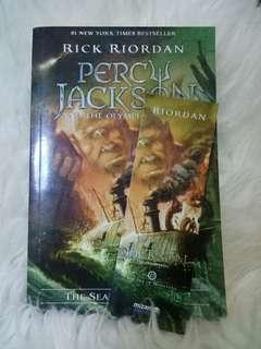 Novel Percy Jackson and the olympians(The Sea Monsters) by Rick Riordan