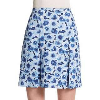 Marc By Marc Jacobs Light Blue Aki Floral Skirt