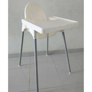 Baby Dining Chair With Tray