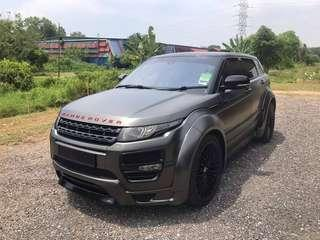 Range Rover Evoque High Spec