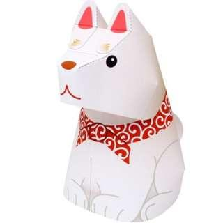 (紙模型的部部屋)狗狗紙模型