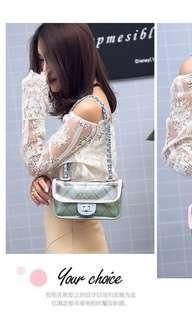 New Import Pastel Clear Bag