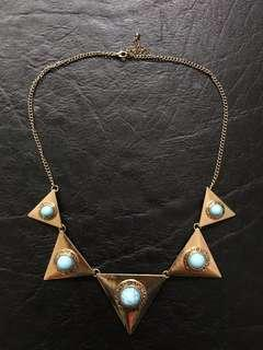 Aztec inspired necklace