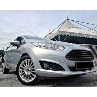 Ford Fiesta 1.5 Titanium (A) 2014