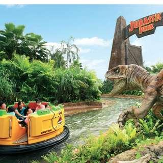 COMBO: Universal Studios Singapore + Adventure Cove Admission Tickets