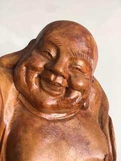 Buddha Figure (Solid Wood)