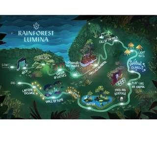 Rainforest Lumina at Singapore Zoo (Fixed date)