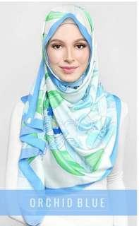 dUCk Scarves LE Blooming Orchid in Blue