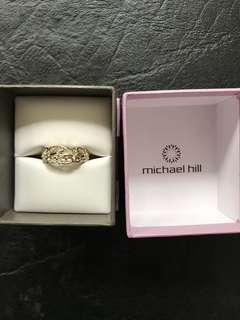 Michael Hill silver ring