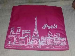 PINK PARIS INSULATED LUNCH BAG