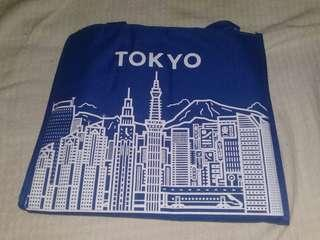 BLUE TOKYO INSULATED LUNCH BAG
