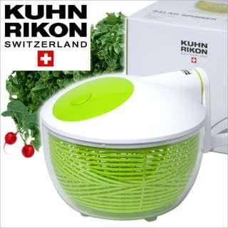 瑞士Kuhn Rikon沙律蔬菜脫水器 Large Salad Spinner, 26cm
