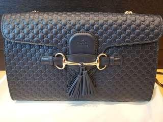 Gucci shoulder carry leather bag
