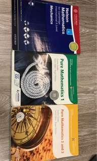 A-level Maths textbook