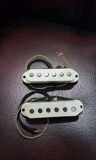 Pickup Fender Tex Mex Neck dan Middle