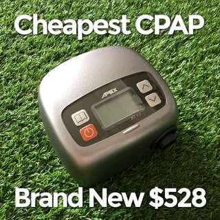Cheapest CPAP $528 Apex Brand New in Box