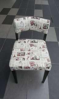 polyrethane dining chair