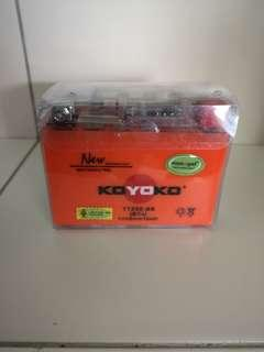 100% Original Koyoko Motorcycle Battery