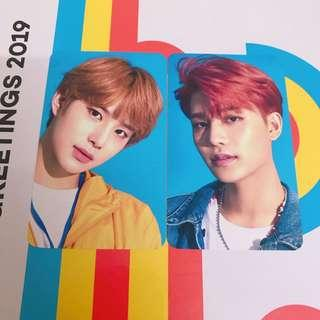 WTT NCT Season Greetings 2018 11st Po Benefit Official Photocard