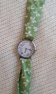 Lazy cat watch - strap changeable