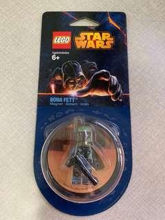 Brand New LEGO Starwars Boba Fett Magnet