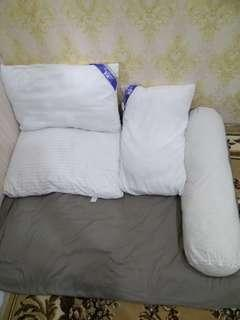 Pillow and boster bantal guling bedcover