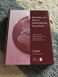 Analysis of equity investment valuation