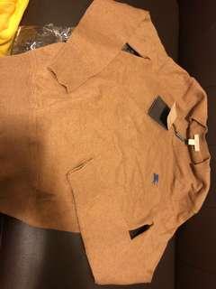 Burberry 啡色XS冷衫