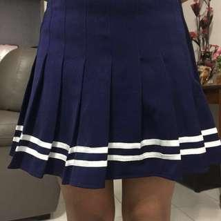 Navy Blue Tennis Skirt