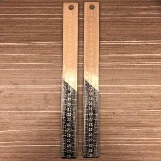 Typo Wooden Ruler