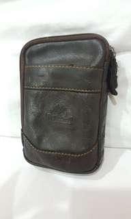 Pouch Timberland dark brown leather