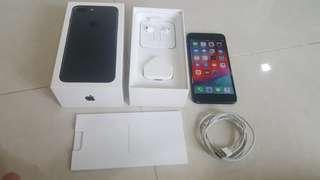 Full Box Black iPhone 7 Plus , 128GB