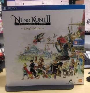 PS4 Ni no Kuni II Revenant Kingdom King's Edition