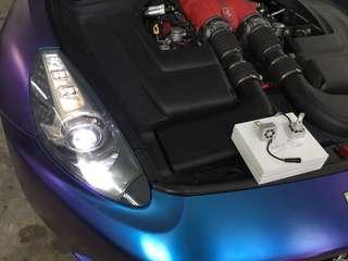Ferrari California👉2013 Installed Super Bright LED Headlight blub Inspection Approval👍