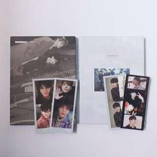 day6 moonrise album & pc | gold moon & silver moon