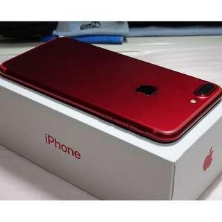 iPhone 7 Plus 256GB Red / iPhone7 Plus 256G 紅 (Ref:7PR-256)
