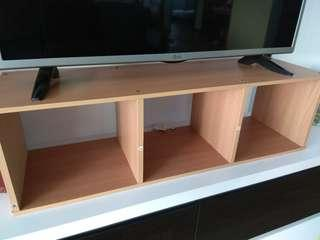 Book/ display shelve- Muji Wood style