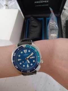 Seiko Prospex SRPB11K1 Turtle Blue Lagoon Limited Like new